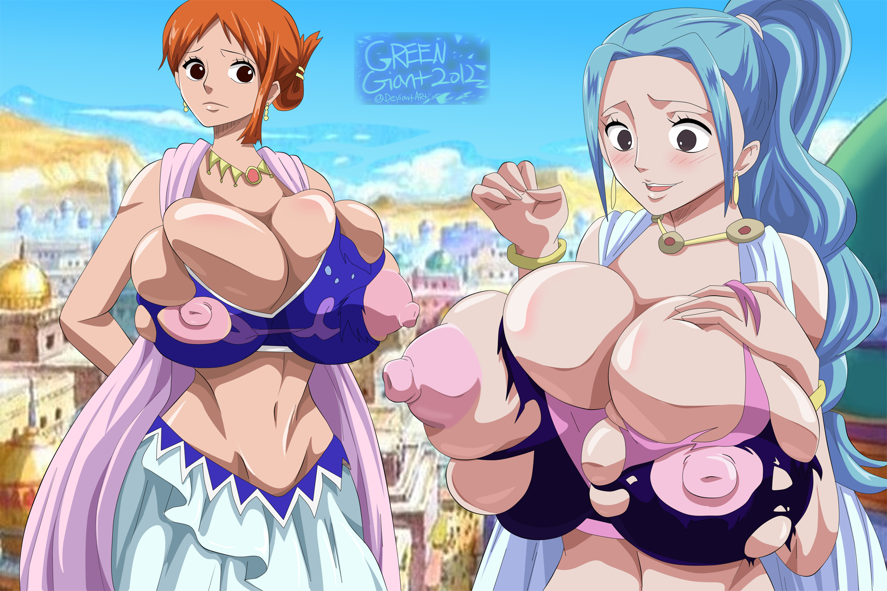 one piece vivi porn