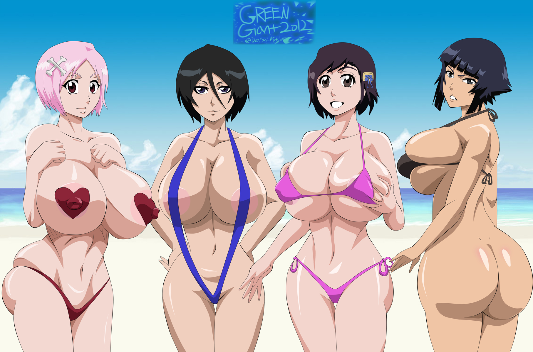 naked manga girls bleach
